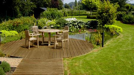 Ontwerp en realisatie van tuinen en vijvers - Deco van de tuin ...